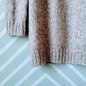 Old Navy Sweaters - Old Navy tan ivory knitted long sweater